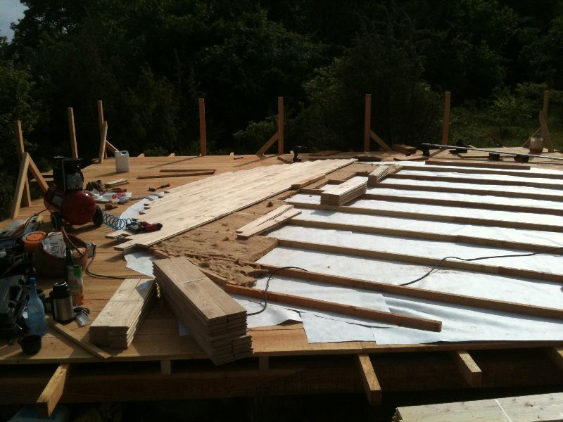Yurt Platforms Floor Insulation